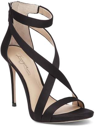 Vince Camuto Imagine Devin Satin High-Heel Ankle Strap Sandals