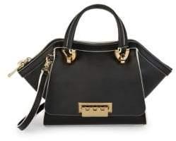 Zac Posen Leather Top-Handle Bag