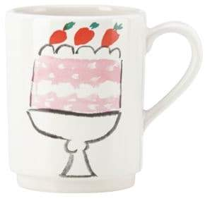 Kate Spade Illustrated Cake Mug