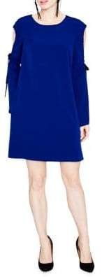Rachel Roy Cold-Shoulder Shift Dress