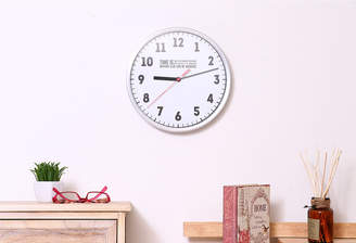FBC 壁掛け時計 タイムズ WH ホワイト