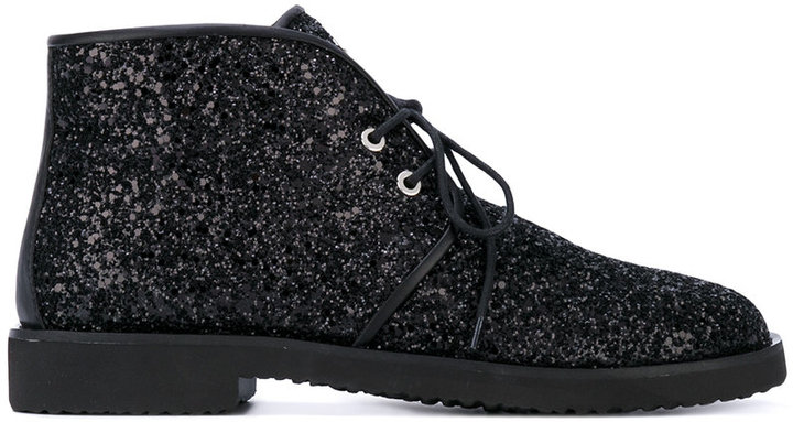 Giuseppe Zanotti Design glitter-effect boots