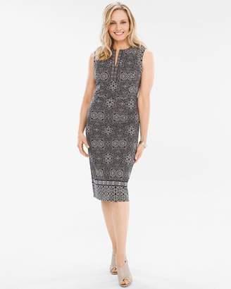 Aztec-Print Dress