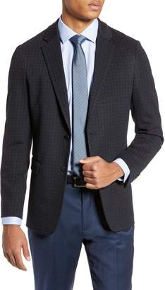 Theory Clinton Regular Fit Ponte Sport Coat