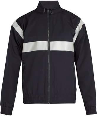 A.P.C. Samedi reflective-print gabardine jacket