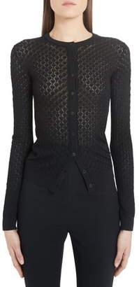 Dolce & Gabbana Open Knit Cardigan