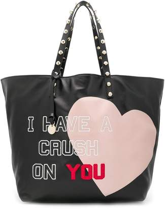 314867a4a1 RED Valentino RED(V) I Have a Crush On You tote bag