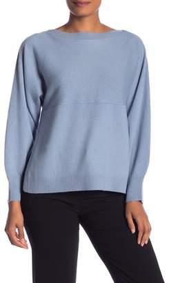Vince Side Slit Wool & Cashmere Pullover