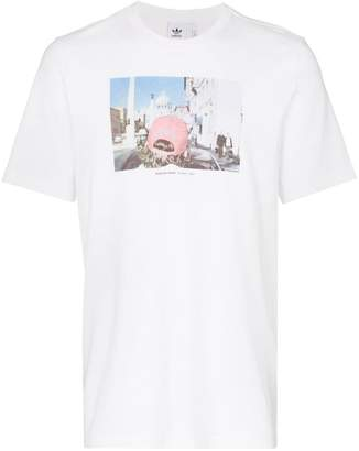 adidas Martin Parr graphic print cotton T-shirt