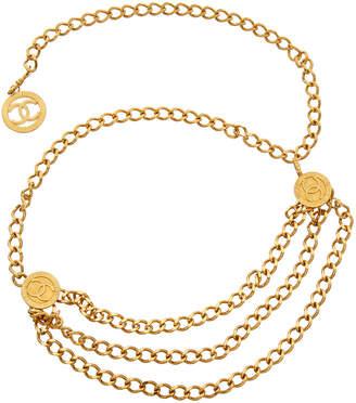 Chanel Gold-Tone Chain Belt