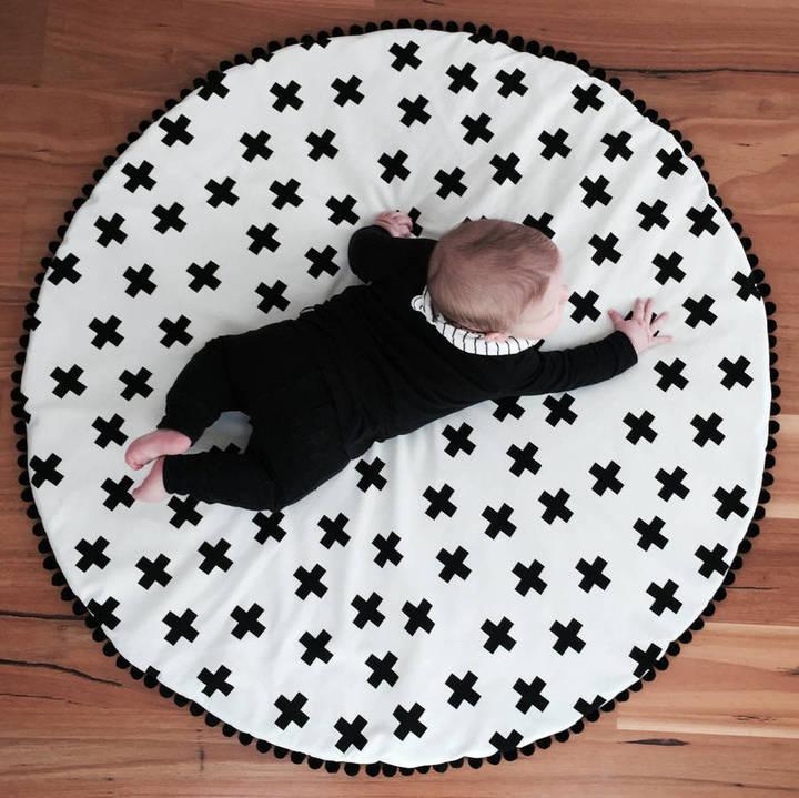 Grattify Monochrome Doublesided Kids Play Mat