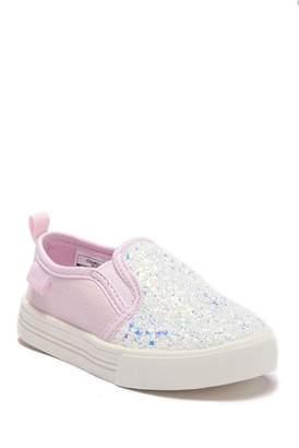 Osh Kosh OshKosh Maeve Glitter Slip-On Sneaker (Toddler & Little Kid)