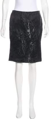 Gucci Jacquard Knee-Length Skirt