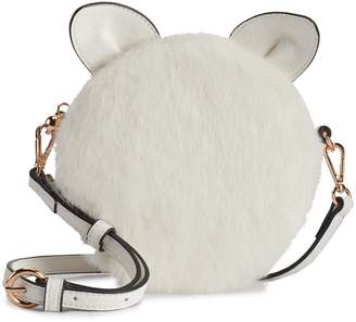 Lauren Conrad Petit Faux-Fur Cat Crossbody Bag
