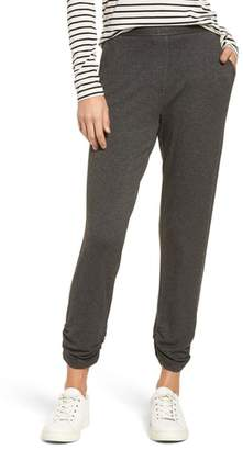 Michael Stars Ruched Hem Jogger Pants