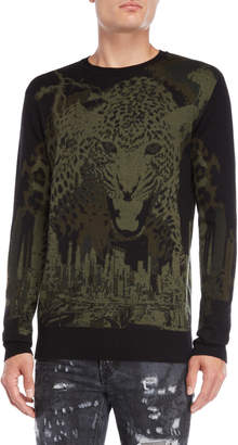 Marcelo Burlon County of Milan Sulupe Jaguar Sweater