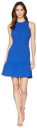 Donna Morgan Crepe Sheath Dress with Flounce Women's Dress