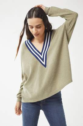 Urban Outfitters Vivi Plunging V-Neck Top