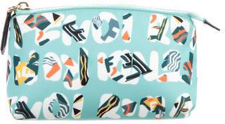 FendiFendi Printed Cosmetic Bag