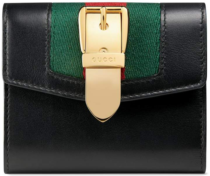 Gucci Sylvie leather wallet