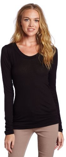 LnA Women's Long Sleeve Crew Neck Tee