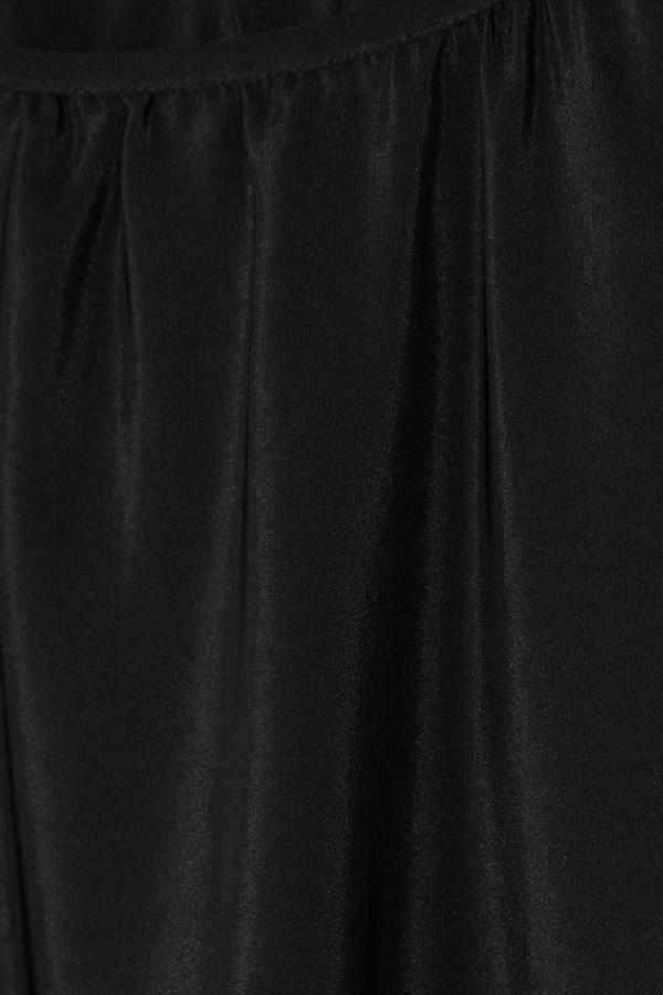 Chelsea Flower Slit-sleeve silk top