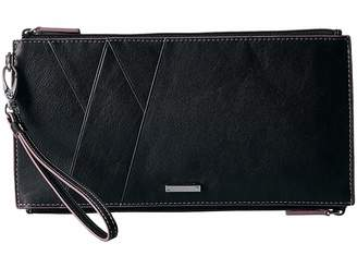 Lodis Mill Valley Under Lock Key Kai Double Zip Pouch with Wristlet Travel Pouch