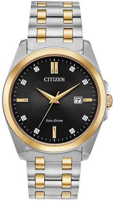 Citizen Mens Black Bracelet Watch-Bm7107-50e