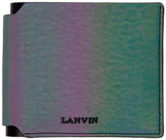 Lanvin (ランバン) - Lanvin マルチカラー イリディセント ウォレット