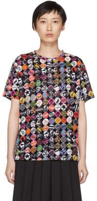 Marc Jacobs Black Printed T-Shirt