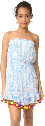 Athena Procopiou The Misummer's Sky Short Dress $498 thestylecure.com