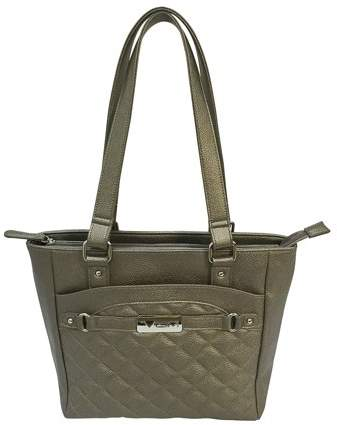 NcStar VISM Concealed Carry Quilted Tote Gray