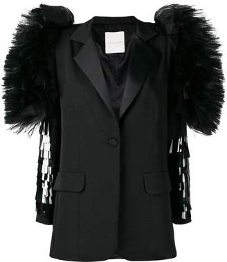 Loulou wing sleeve blazer