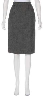 Ungaro Paris Textured Knee-Length Skirt