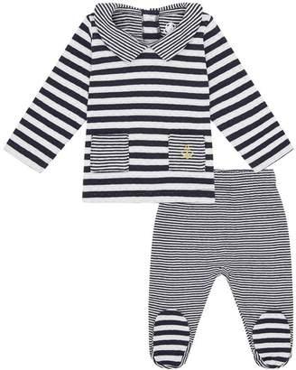 Petit Bateau Nautical T-Shirt and Trousers Set