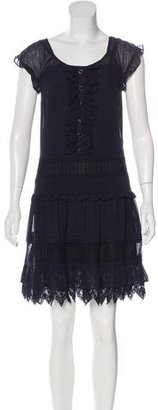 Alice by Temperley Sleeveless Ruffle-Trimmed Dress w/ Tags $145 thestylecure.com