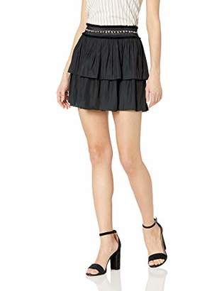 Ramy Brook Women's Maeve Studded Mini Skirt