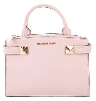 Michael Kors Saffiano Leather Satchel Bag