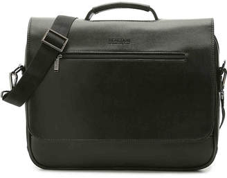 Kenneth Cole Reaction En-cased Leather Messenger Bag - Men's