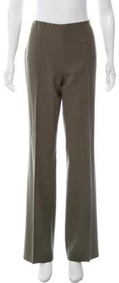 Ralph Lauren Wool-Blend High-Rise Pants