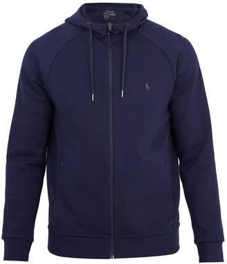 Polo Ralph Lauren Hooded zip-through jersey sweatshirt