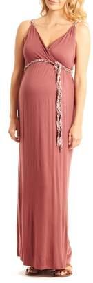 Everly Grey Maternity Sofia Ultimate Maxi Dress (Maternity)