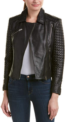 Doma Lady Studded Leather Jacket