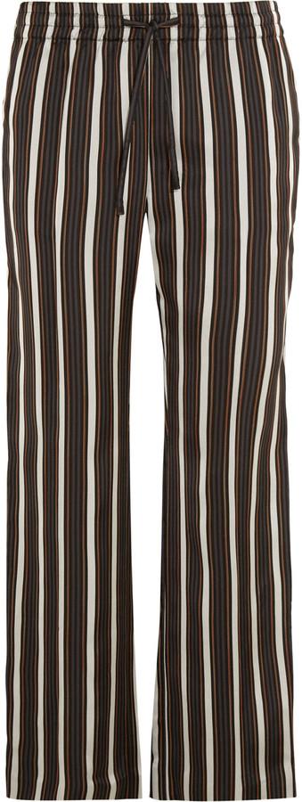 JOSEPHJoseph Lou Lou striped satin wide-leg pants