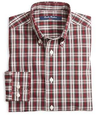 Brooks Brothers Boys' Tartan Sport Shirt - Big Kid