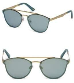 Web 59 MM Round Sunglasses