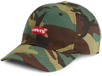 Levi's Camo-Print Cotton Baseball Cap