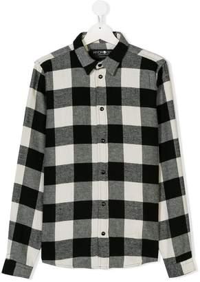 Hydrogen Kids check shirt
