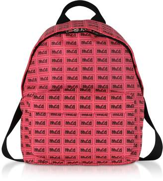McQ Neon Pink Signature Backpack