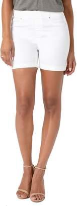 Liverpool Chloe Pull-On Denim Shorts